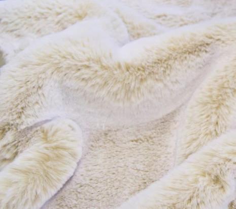 Syntetpäls - Sand White Rabbit