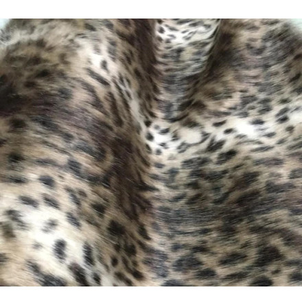 Syntetpäls - South American Leopard