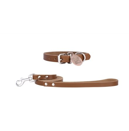 MORWENNA koppel & halsband, Tan