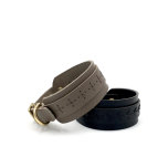 Hundhalsband - SF+ Craft Leather Greige