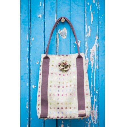 Shoppingbag - Kate Multispot Lime