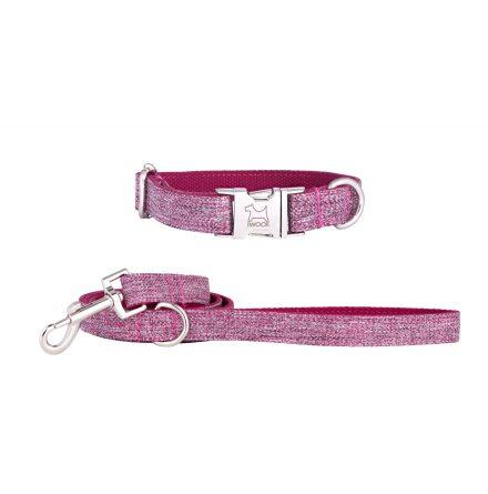 DOG ROSE koppel & halsband, Krom